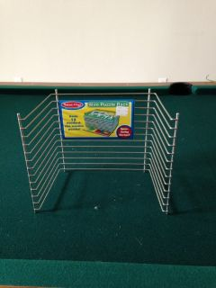 Wire Puzzle Rack (Melissa and Doug) for 12 standard size wood puzzles