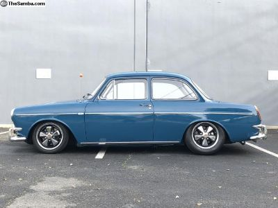 1964 VW Notch Back S *Fully Restored* Mod Minty