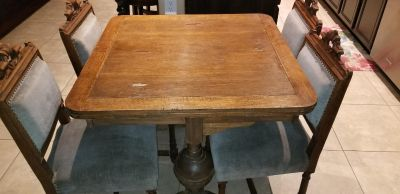 Antique kitchen table formal