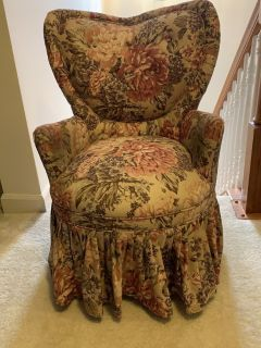 Small upholstered chair