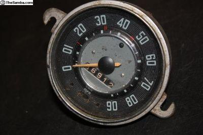 April 1964 Speedometer Speedo Beetle Bug