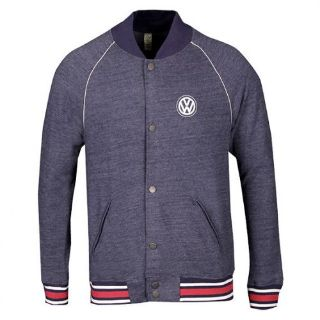 Sell VW Volkswagen Driver Gear Navy Organic Athlete Snap Button XL Jacket DRG012760XL motorcycle in Braintree, Massachusetts, United States, for US $52.00