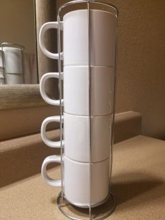 CUTE COFFEE MUG STAND, 2 PICTURES