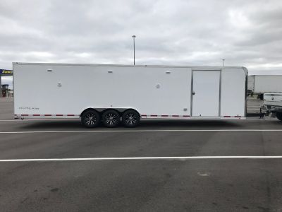 2019 Vintage 32' Outlaw Race Trailer