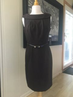 New with Tags! Karin Stevens Dress with Skinny Belt Size 10