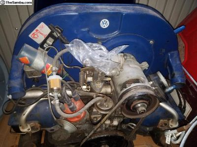 Single port air cooled 1500 cc engine