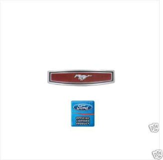 Purchase 69-73 MUSTANG w/ 2 SPOKE HORN PAD STEERING WHEEL EMBLEM motorcycle in Lawrenceville, Georgia, US, for US $21.95