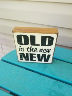 For the antique lover OLD IS THE NEW