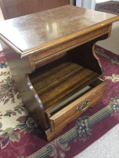 End table or night stand solid wood