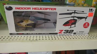 Indoor remote controled helicopter