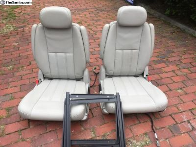 Stow and Go seats and adapters