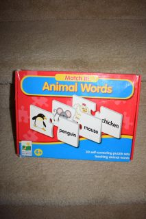 Animal words Puzzle $4.00 age 4+