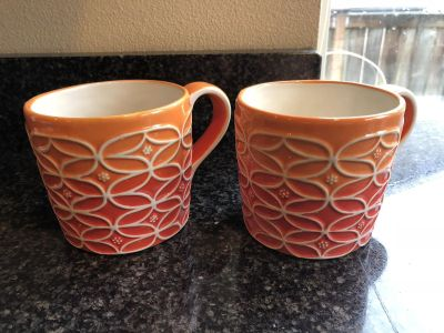 Two Starbucks coffee cups $5 for both!