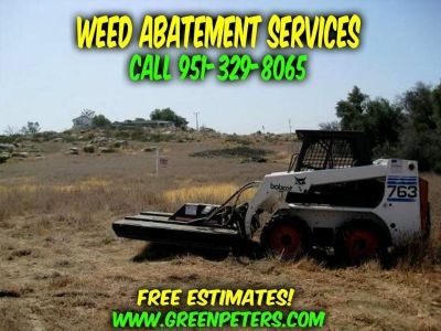 Weed Abatement Services San Bernardino