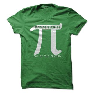 $19, Pi Day T-Shirts 2015