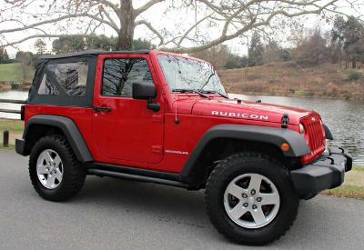 2012 Jeep Wrangler Rubicon (Flame Red Clearcoat)
