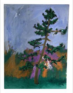 Vintage Oil on Canvas Painting