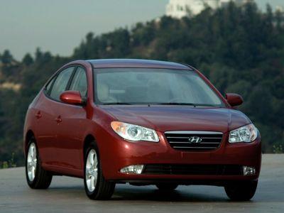 2008 Hyundai Elantra GLS (Black Pearl)