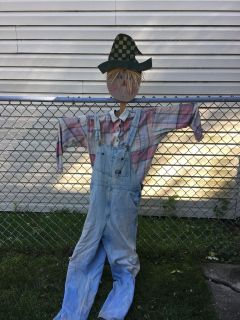 Wooden scarecrow frame 66 tall !!