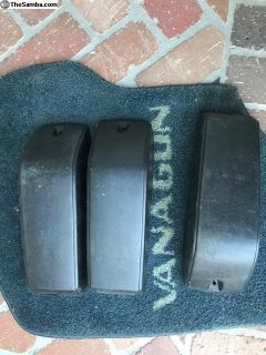 Vanagon front seat belt covers