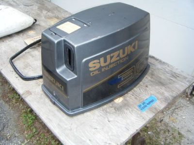 Purchase Suzuki Dt 30 cowling engine cover pull start manual rewind motorcycle in Newark, Delaware, United States, for US $150.00