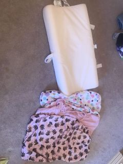 Changing pad with 3 covers