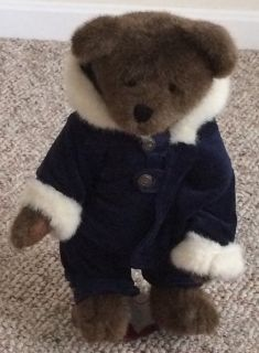 Boyd s Boy Plush Bear on Stand