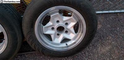 Porsche Cookie Cutter Wheels
