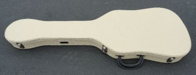 Fender TELECASTER THERMOMETER CASE - Blond Tolex W/ Royal Blue Poodle Interior - BRAND NEW