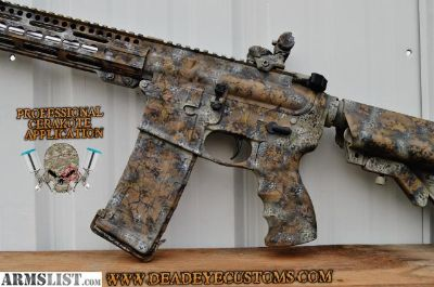 For Sale: custom coated ar15 match grade