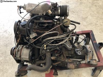 MK1 Rabbit 1.8 8V Engine/4K 5 Speed Transmission