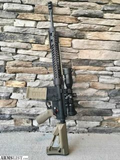 "For Sale: Adams Arms and Spikes Tactical AR-15 - 16"", Gas Piston, Never Fired!"
