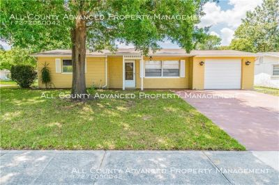 3 Bedroom 2 bath home located on a large corner lot.