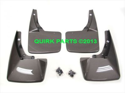 Sell 2011-2014 Chevy GMC Cadillac Mocha Steel Front & Rear Set of Molded Splash Guard motorcycle in Braintree, Massachusetts, United States, for US $165.00