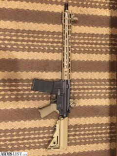 For Sale: Custom AR15 Carbine with CHF 5.56 NATO Barrel