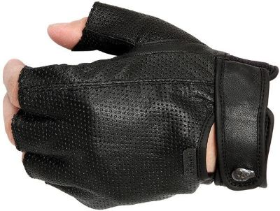 Purchase Pokerun Easy Rider 2.0 Mens Black XL Leather Motorcycle Riding Gloves motorcycle in Ashton, Illinois, US, for US $22.49
