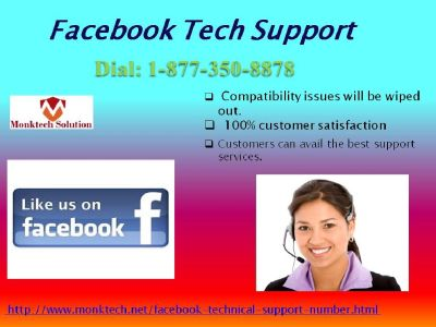 Dogged Commitment towards excellence only with Facebook Tech Support @ 1-877-350-8878
