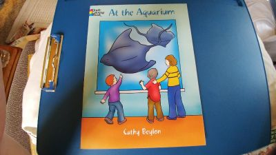 Dover Coloring Book - At the Aquarium - see addt'l photo for inside view