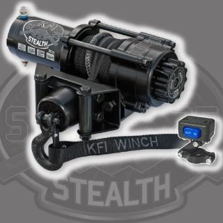 Sell KFI SE25 Stealth Winch w/Mount Polaris02-08Ranger FullSize XP/4x4/2x4/TM(500/700 motorcycle in Northern Cambria, Pennsylvania, United States, for US $311.91
