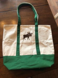 Large Canvas Tote never used