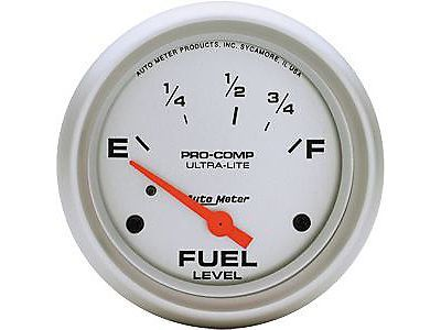 """Purchase Auto Meter 4415 Ultra-Lite Fuel Level Gauge 2-5/8"""" electrical 73-10 ohms motorcycle in Delaware, Ohio, United States, for US $67.95"""