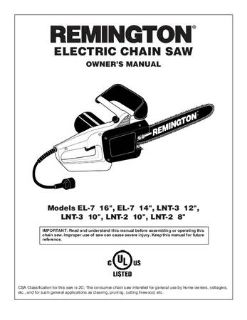 Brand New ChainSaw by remington