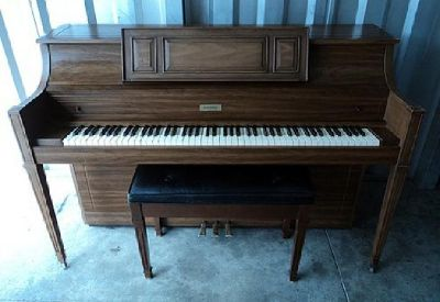 Estey Console Piano For Sale - Very Good Condition - Free Delivery to 1st Floor