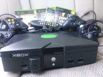 Original black xbox