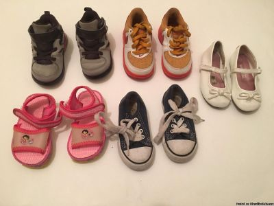 Toddler Girl Size 5 Variety Shoes