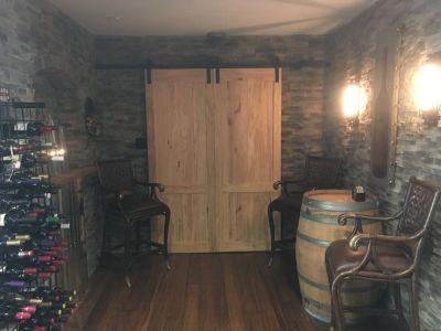 Wine Cellars - Wine Caves for both men and women - Custom Designs