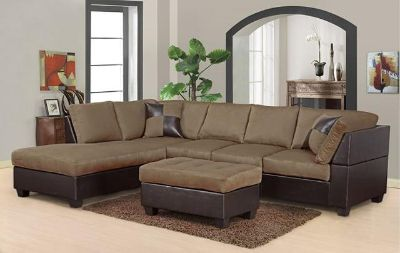 $699, Sectional with Ottoman