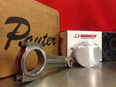 Purchase Pauter X-Beam Rods Wiseco Pistons Toyota Starlet Glanza EP82 EP91 3E 5E 74.5mm 9 motorcycle in Arlington, Texas, United States, for US $1,300.00