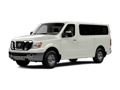 2017 Nissan NV Passenger SL (Glacier White)
