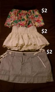 skirts all sz small